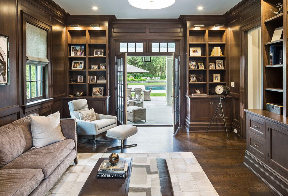 Scardale New Construction How to Stain a Table for Transitional Home Office Home Office Photos Interior Designers and Decorators