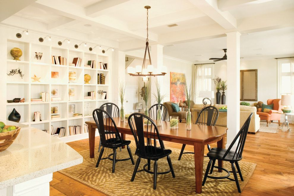 Southern Living Idea Home Living Room Dining Room Combo for Transitional Dining Room Dining Photos Large Dining Rooms