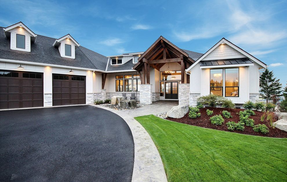 The Aurora : 2019 Clark County Parade of Homes : Modern Farmhouse Exterior List of House Flipping Shows for Farmhouse Exterior Exterior Photos Gardeners and Lawn Care Services