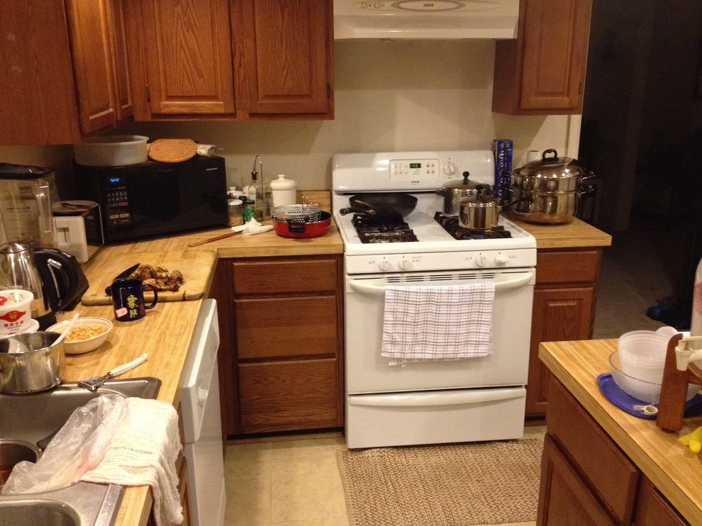 Transitional Kitchen Before & After Kitchen Before and After for Transitional Kitchen Kitchen Photos Stone Cleaners