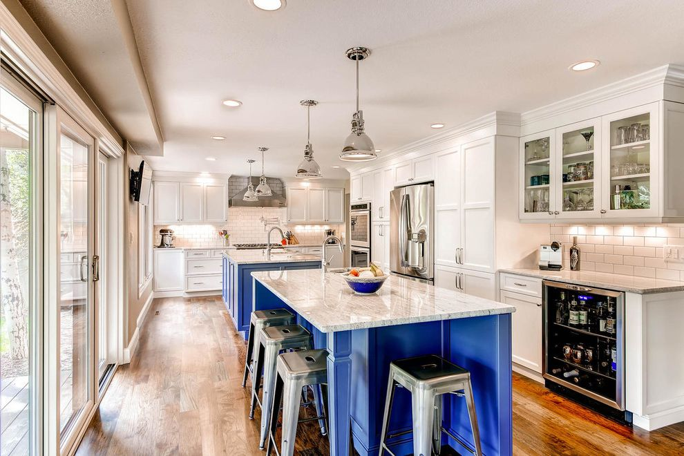 Two Island Kitchen Custom Color What Color to Paint Kitchen for Traditional Kitchen Kitchen Photos Stone Cleaners