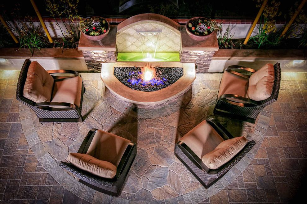 Water Fountains & Water Features How to Increase the Value of Your Home for Landscape Outdoor Photos Landscapes