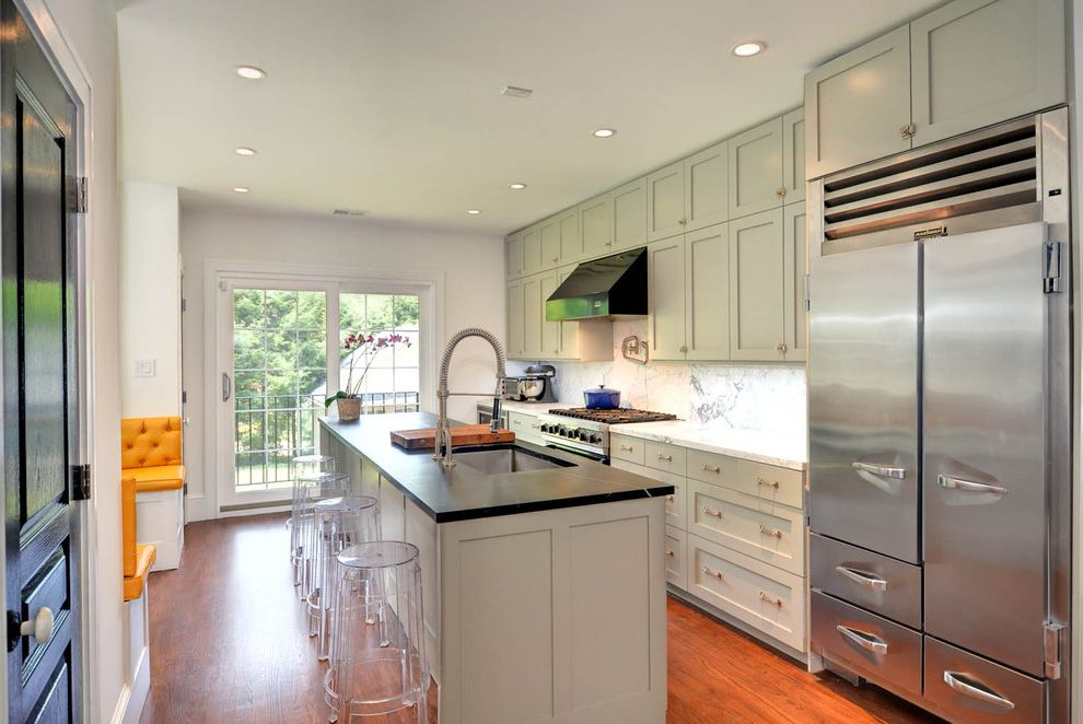 White Shaker Ikea Kitchen Watch Fixer Upper Online Free for Contemporary Kitchen Kitchen Photos Tile and Countertop Contractors