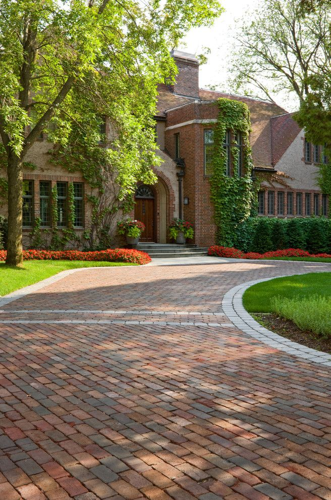 Windsor Companies How to Lay Pavers for Traditional Landscape Outdoor Photos Gardeners and Lawn Care Services